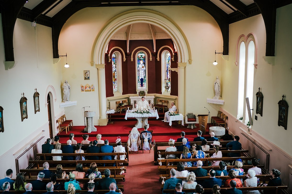 Waterfront Hotel Dungloe Wedding church view