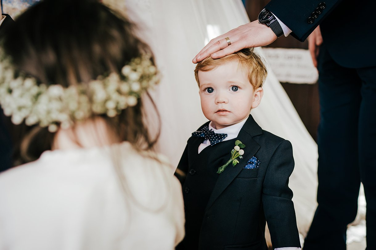 Waterfront Hotel Dungloe Wedding pageboy photo