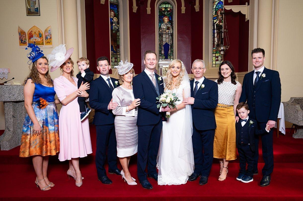 Waterfront Hotel Dungloe Wedding family photos