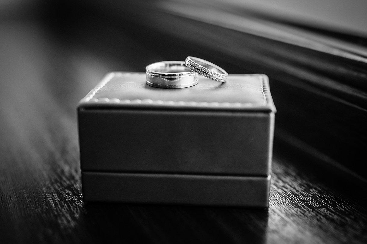 Waterfront Hotel Dungloe Wedding wedding rings photo