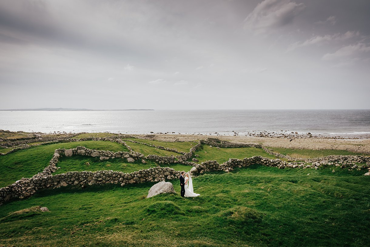 Waterfront Hotel Dungloe Wedding bloody foreland wedding photos donegal