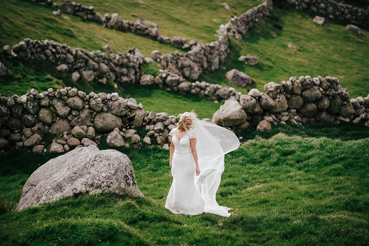 Waterfront Hotel Dungloe Wedding bride photo in gweedore donegal
