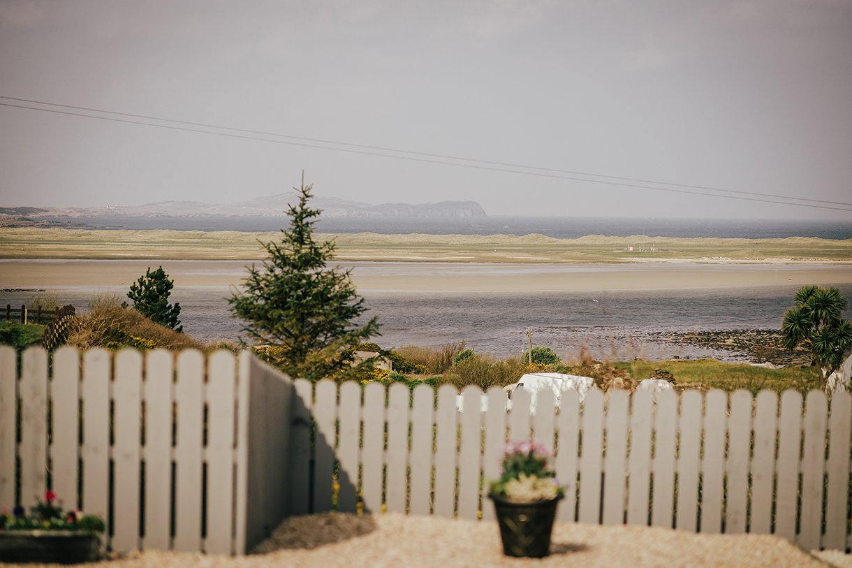 Waterfront Hotel Dungloe Wedding view of Ranafast Co. Donegal