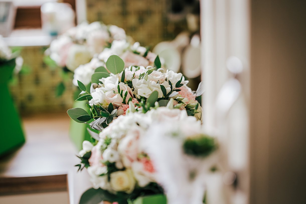 Waterfront Hotel Dungloe Wedding wedding flowers by BB Flowers Dungloe