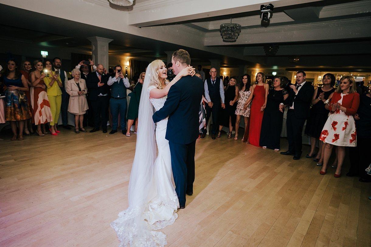 Waterfront Hotel Dungloe Wedding first dance