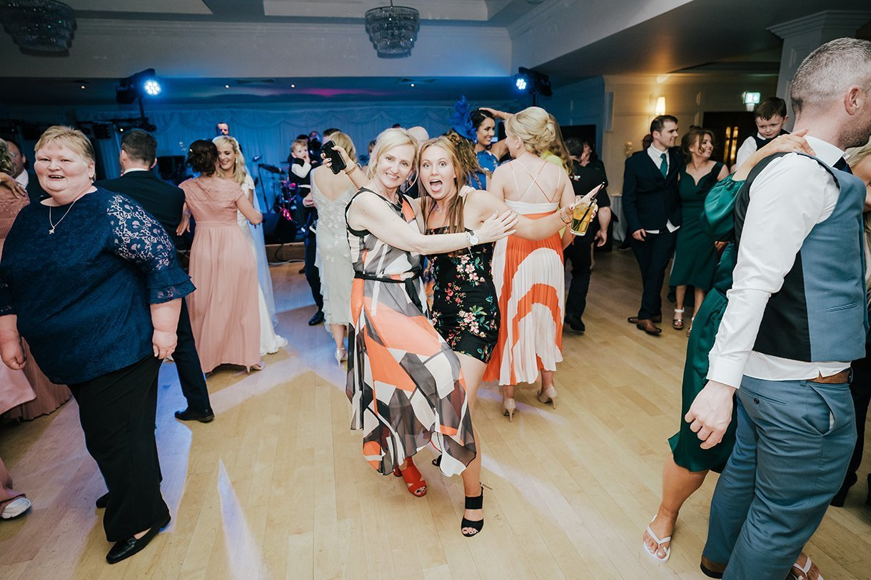 Waterfront Hotel Dungloe Wedding dancing at the wedding