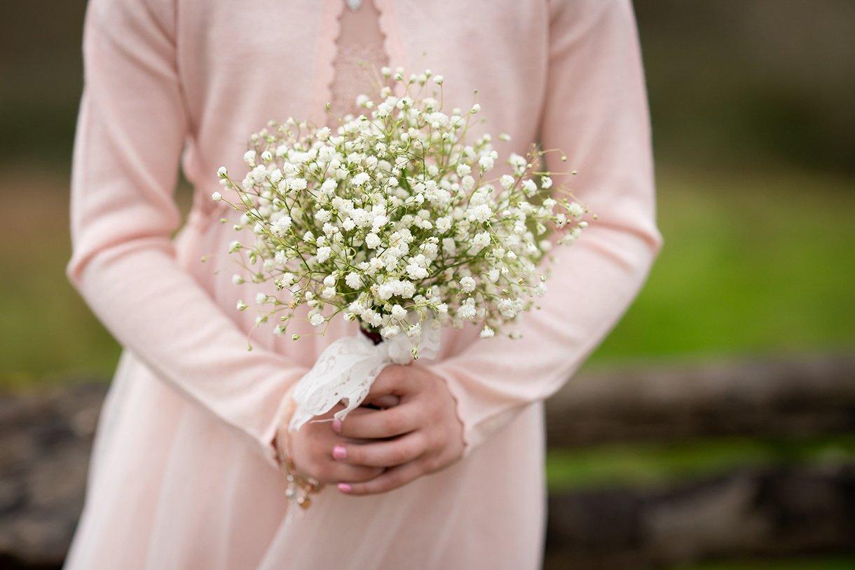 Allingham Hotel Bundoran Wedding flower girl flowers