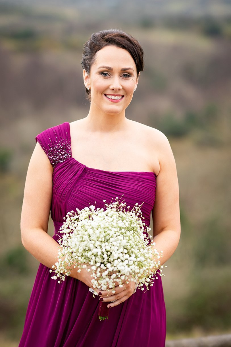 Allingham Hotel Bundoran Wedding bridesmaid photos