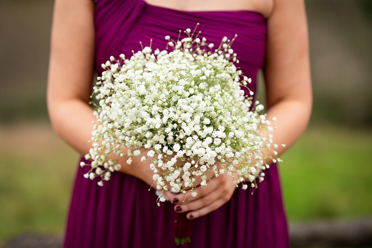Allingham Hotel Bundoran Wedding bridesmaid flowers