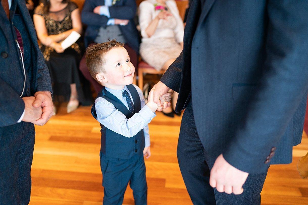 Allingham Hotel Bundoran Wedding page boy
