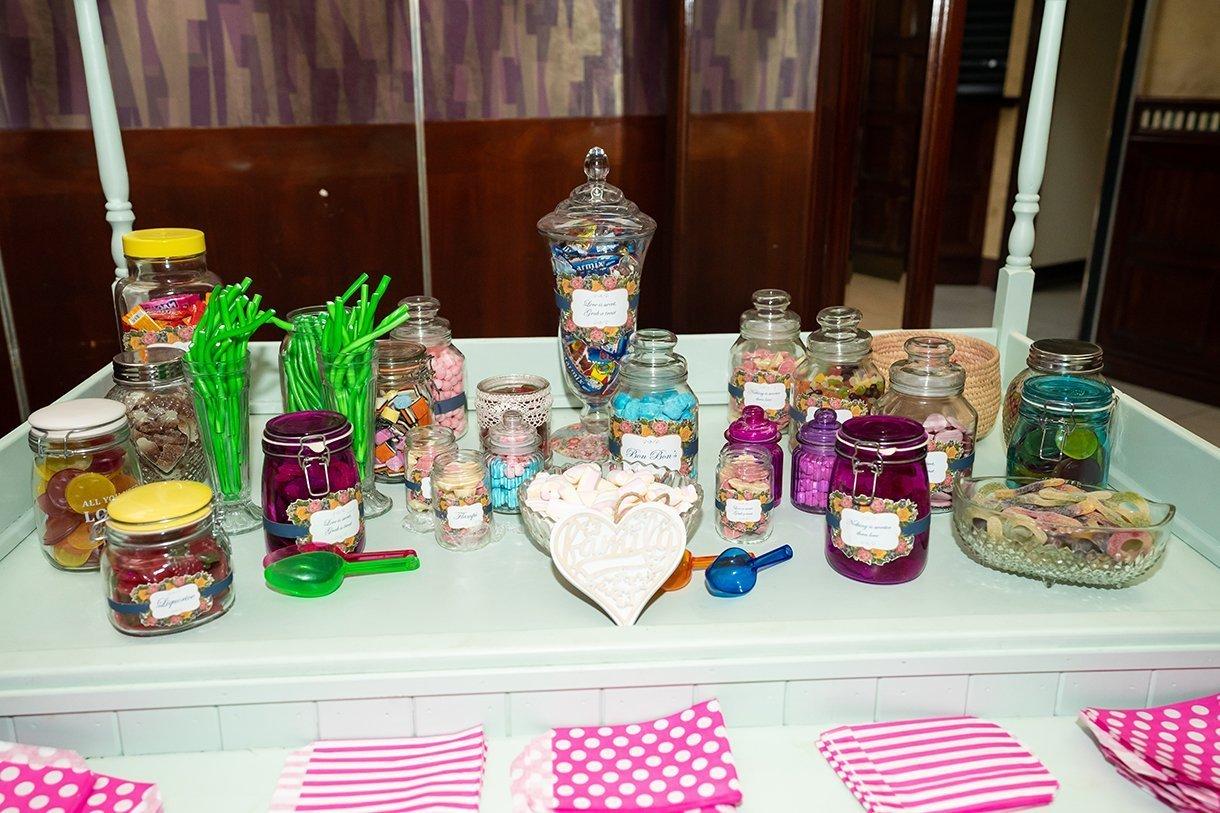 Allingham Hotel Bundoran Wedding the sweet table