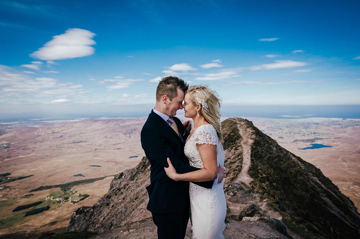 Errigal Mountain Wedding