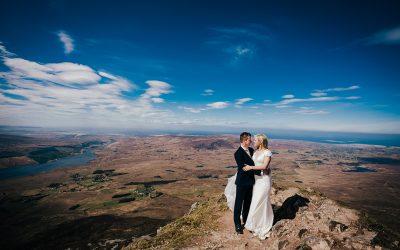 Errigal Mountain Wedding Photos Moya + Gavin