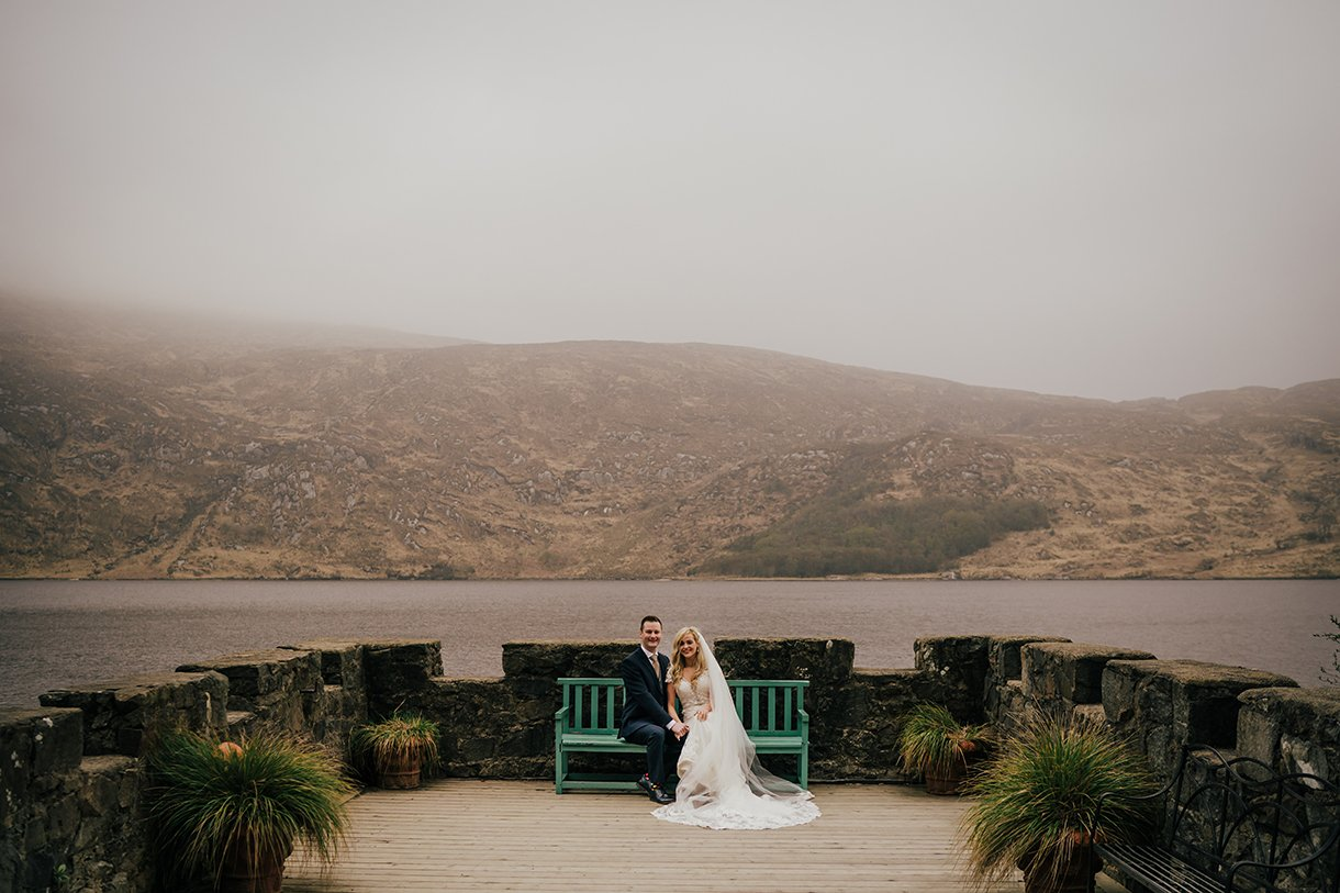 Glenveagh National Park Wedding photos by the lake
