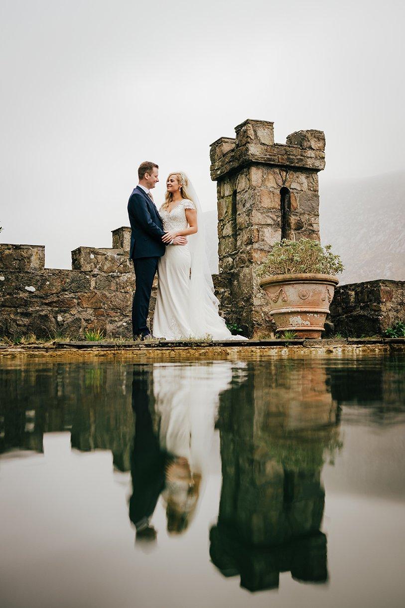 Glenveagh National Park Wedding reflection photo