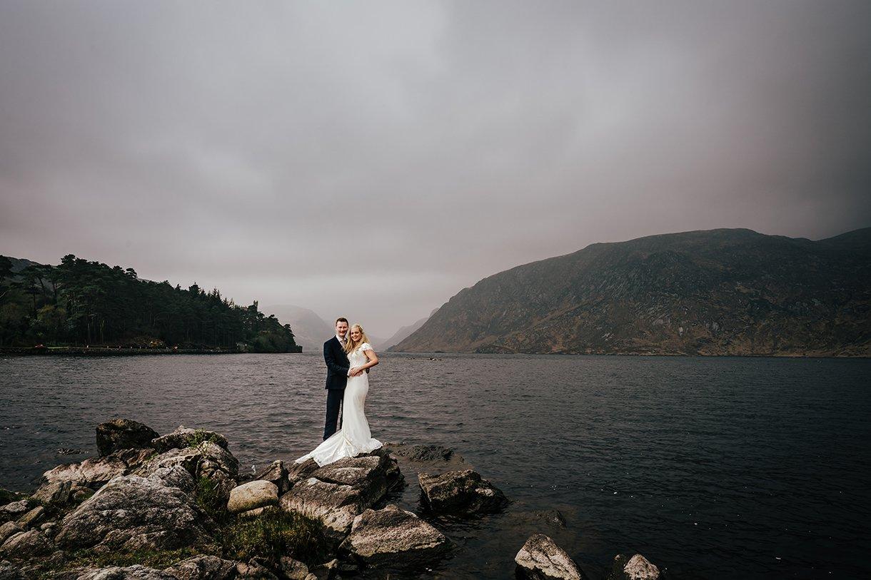 Glenveagh National Park Wedding lough veagh