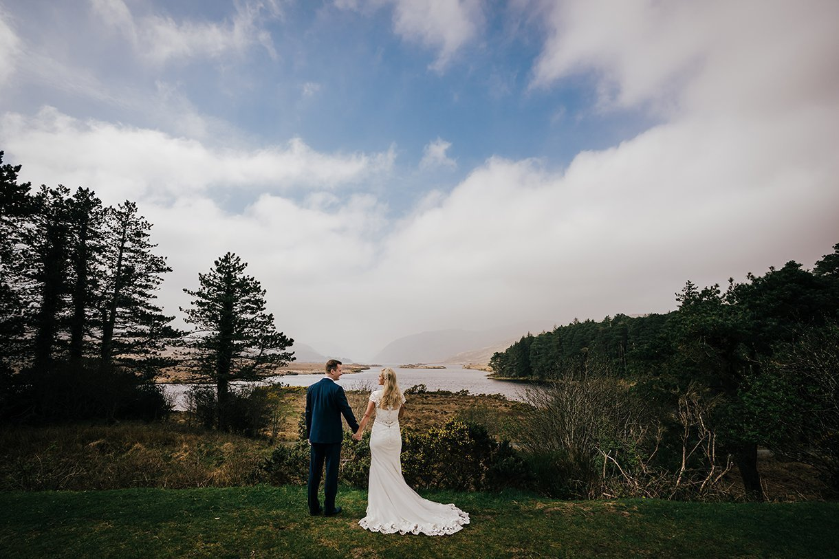 Glenveagh National Park Wedding lough veagh grand vista