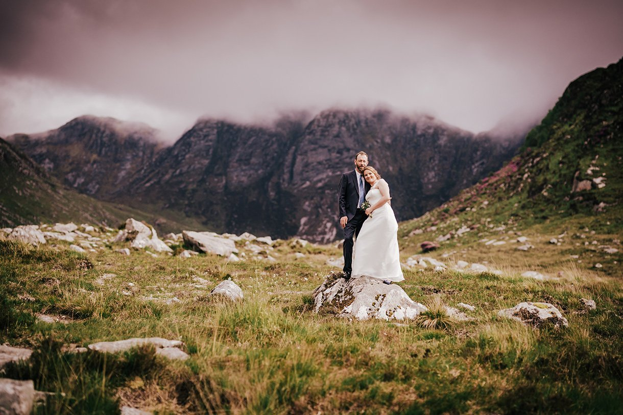 An Chuirt Hotel Weddings the poisoned glen wedding photo