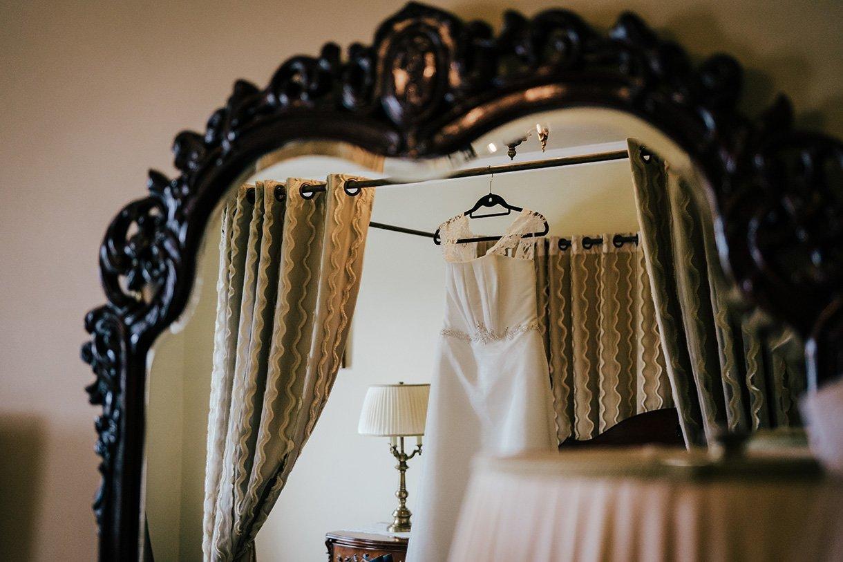 An Chuirt Hotel Weddings brides wedding dress