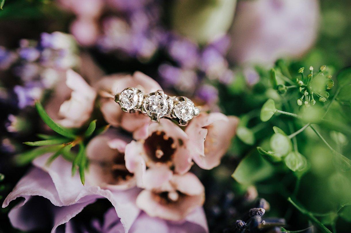 An Chuirt Hotel Weddings brides engagement ring