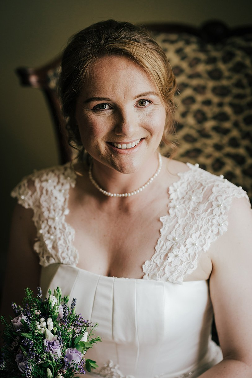 An Chuirt Hotel Weddings bride portrait