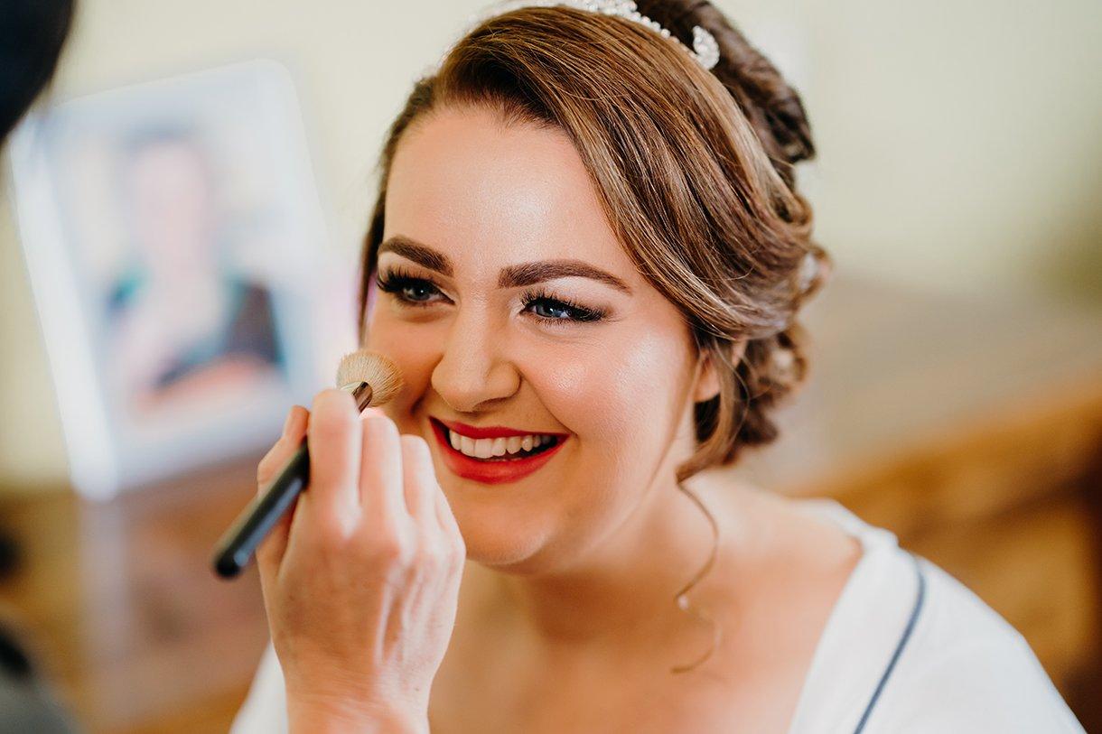 Great Northern Hotel Bundoran Summer Wedding smiling bride