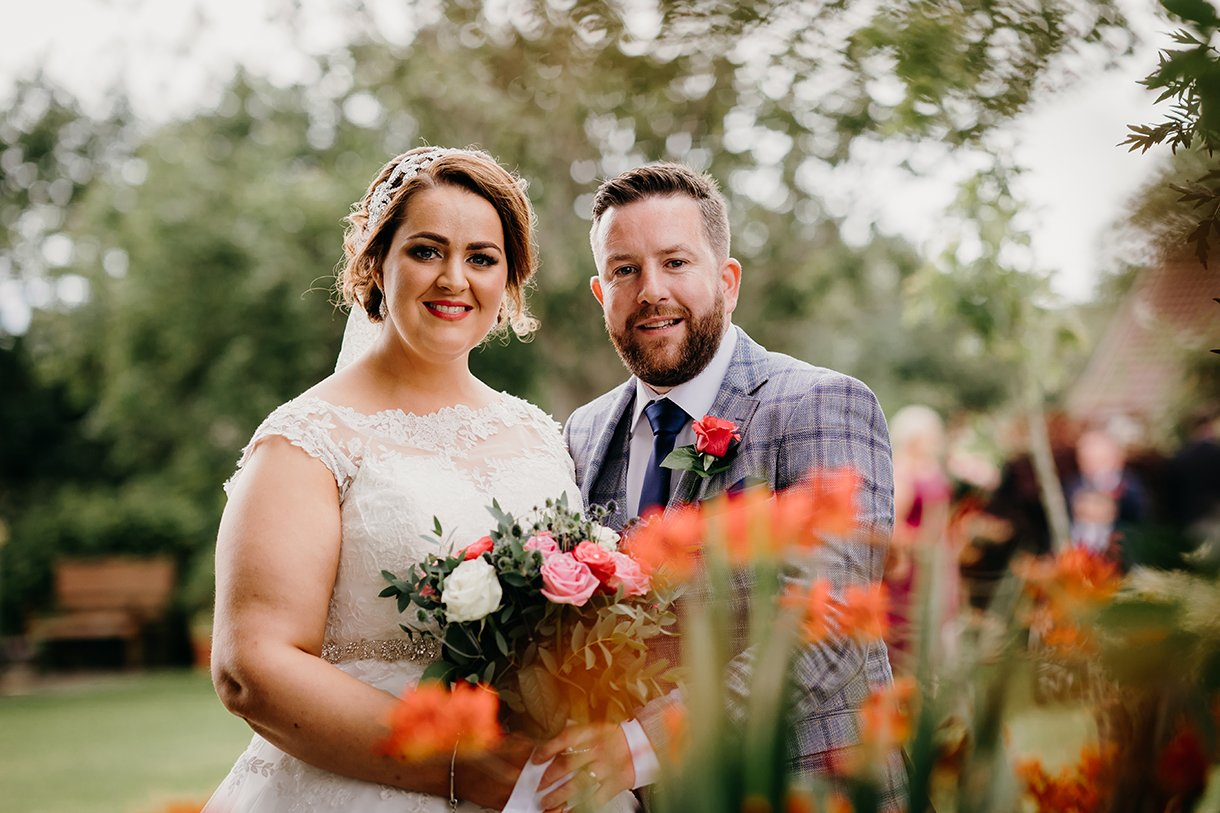 Great Northern Hotel Bundoran Summer Wedding bride and groom photo