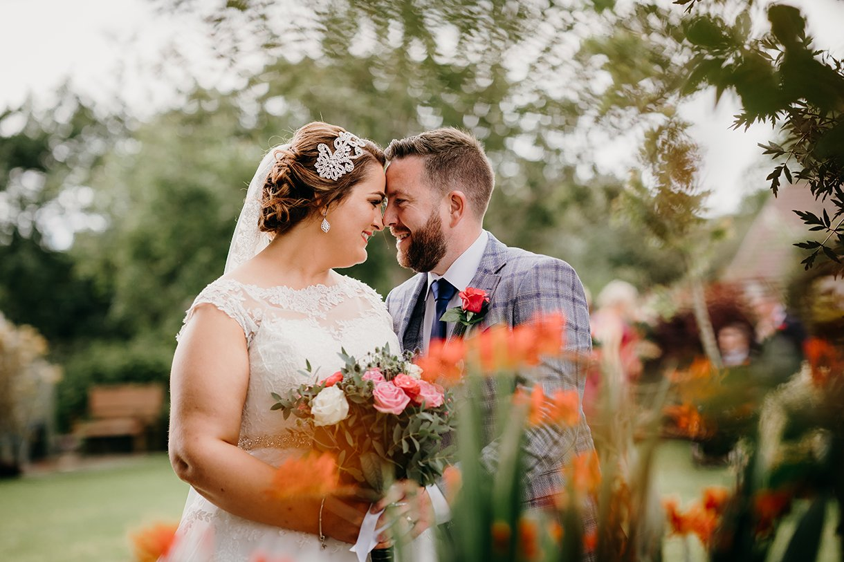 Great Northern Hotel Bundoran Summer Wedding bride and groom portrait