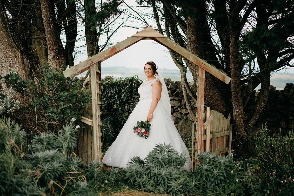 Great Northern Hotel Bundoran Summer Wedding bride portrait