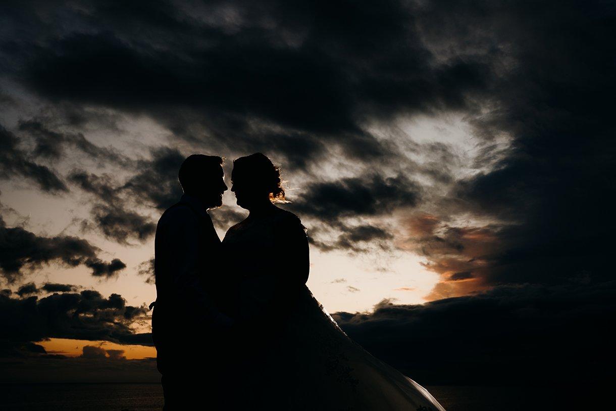 Great Northern Hotel Bundoran Summer Wedding creative sunset photos