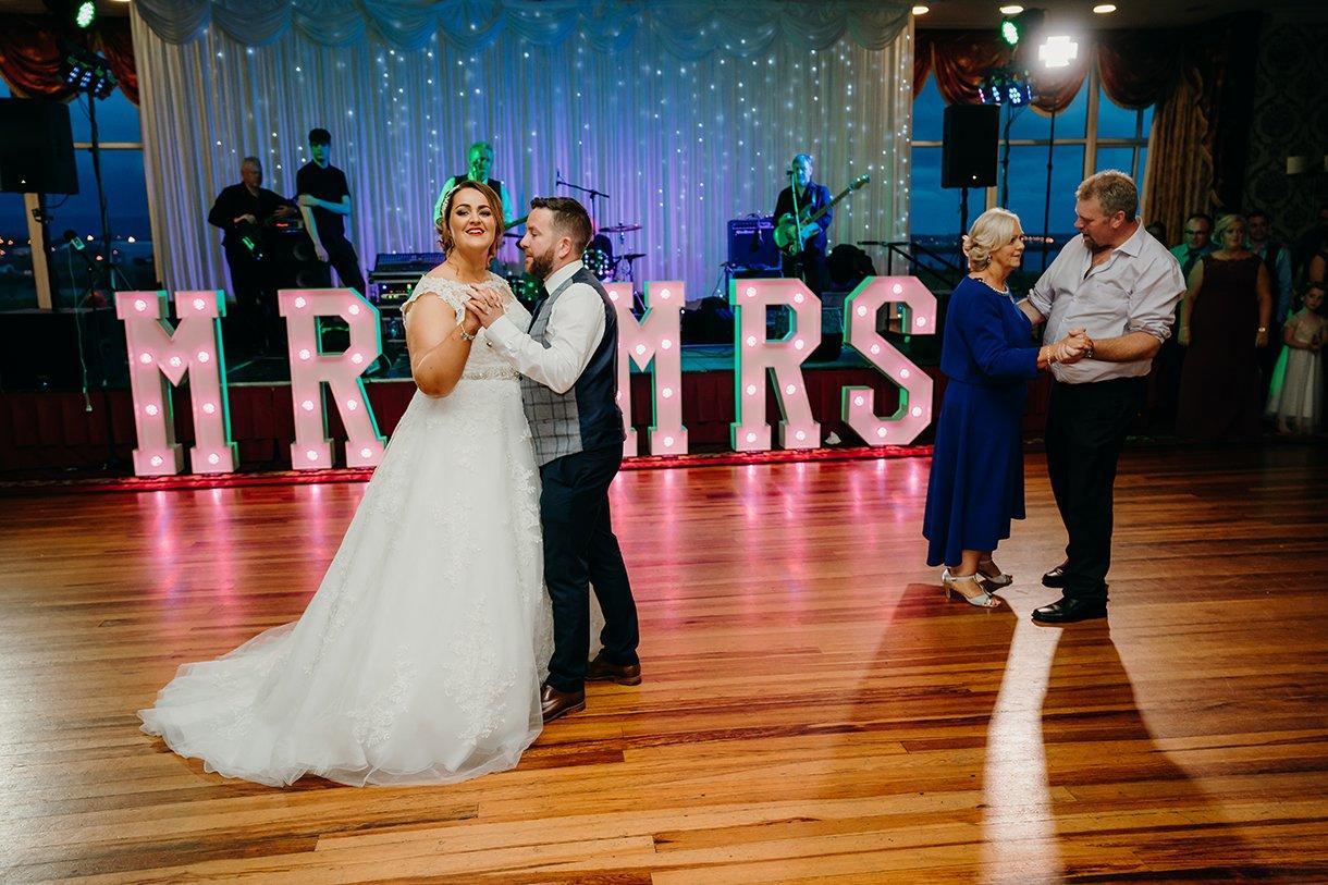 Great Northern Hotel Bundoran Summer Wedding dancing photos