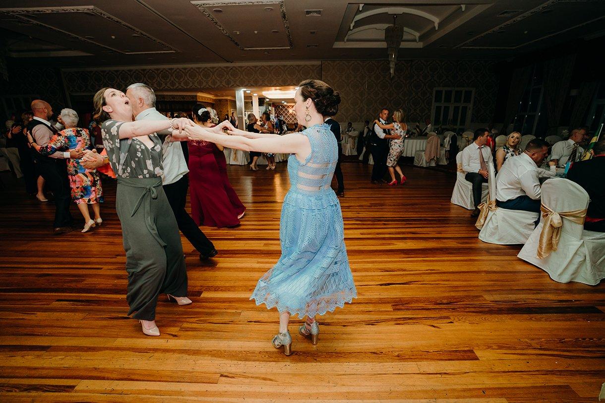 Great Northern Hotel Bundoran Summer Wedding guests dancing