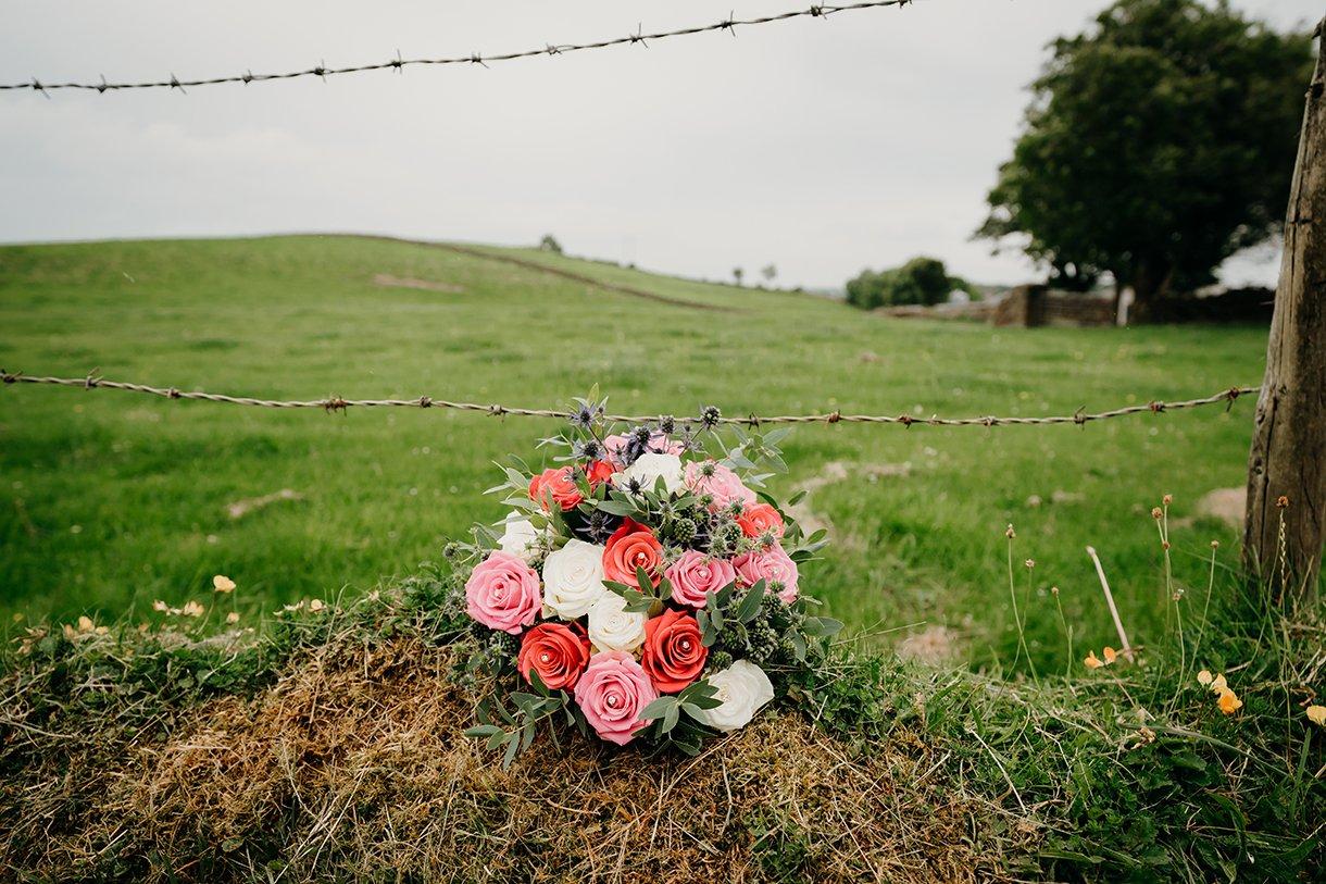 Great Northern Hotel Bundoran Summer Wedding brides wedding bouquet