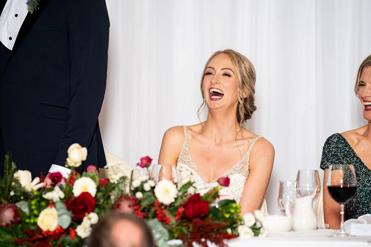 Harvey's Point Christmas Wedding