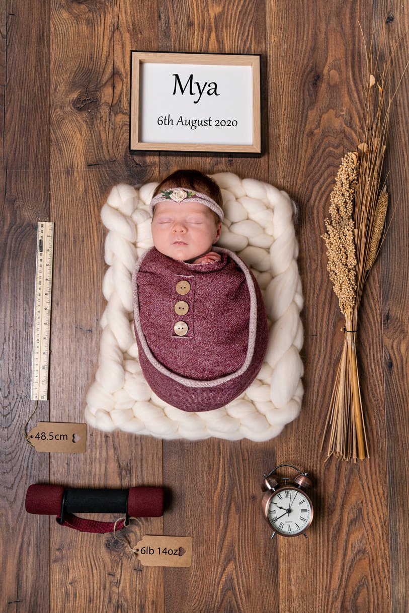 creative newborn photography ireland