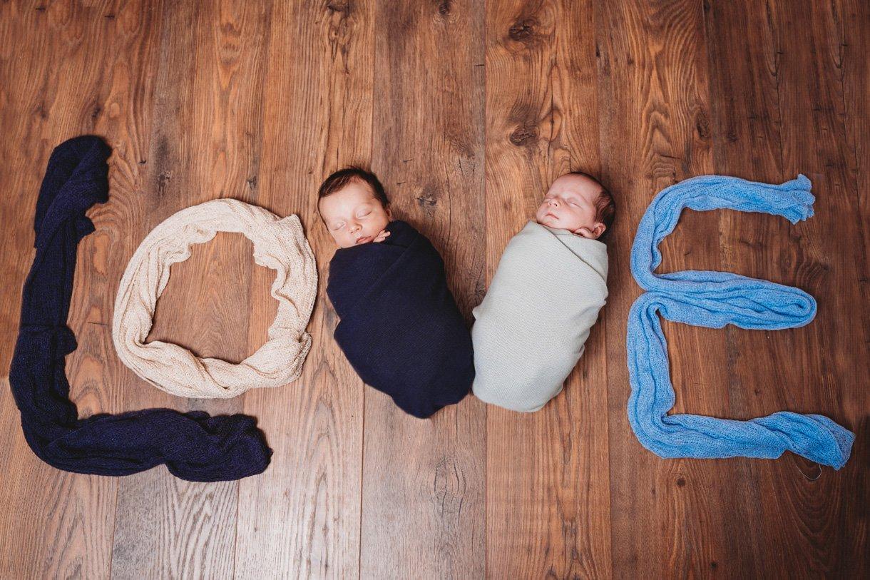 newborn twin boys photo inspiration